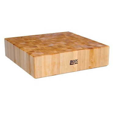 "John Boos CUCLA24T - Cucina Laforza Butcher Block Top, 24 x 24 inch, 6"" maple"