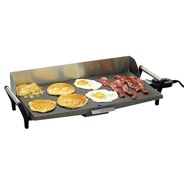 Cadco PCG-10C - Countertop Buffet Griddle, Electric