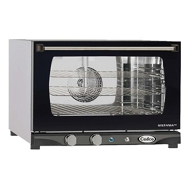 Cadco XAF-113 - LineChef Stefania Heavy-Duty Convection Oven, electric, countertop