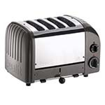 Cadco CTW-4M - Toaster, manual ejector, 4-slice bread, 1