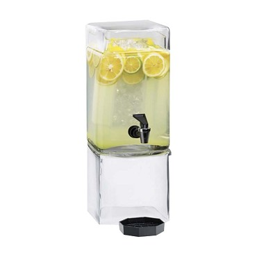 Cal-Mil 1112-1A - BPA Free Square Beverage Dispenser, 1-1/2 gal.