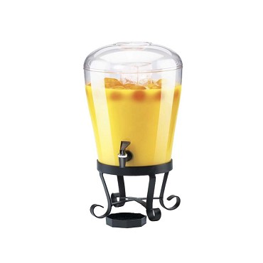 Cal-Mil 1610 - Beverage Dispenser w/Polycarbonate Ice Chamber, 3 gal.