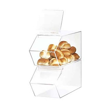 Cal-Mil 992 - Stackable Acrylic Food Bin, 7-1/2 x 19-1/2 x 8 in.