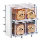 Cal-Mil 1279-15 - Eco Modern Bread Box Display, (2) tier, 14