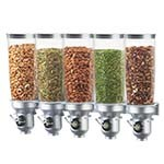 Cal-Mil 3518-5-39FF - Cereal Dispenser, (5) 5 liter cylinders, wall-mount, 40