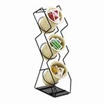 Cal-Mil 1025-3-39 - Silver 3 Hole Silverware Display, 4-3/4 x 8 x 20 in.