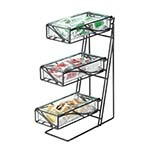 Cal-Mil 1235-13-43 - Condiment Display, 3-tier, 5-1/4