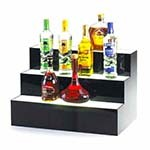 Cal-Mil 1269 - Three-Step Acrylic Bottle Display, 24 x 14-1/2 x 15-1/2 in.
