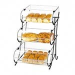 Cal-Mil 1280-3 - 3 Tier Display Stand & Round Nose Bins, 10 x 14 in.