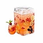 Cal-Mil 1733-2 - Glass Infusion Dispenser, 2 gal.