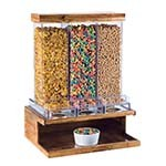 Cal-Mil 3434-99 - Madera Cereal Dispenser, 3-section, 18