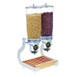 Cal-Mil 3516-2-98FF - Cereal Dispenser, (2) 5 liter cylinders, 12-3/4