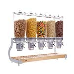 Cal-Mil 3516-5-98 - Cereal Dispenser, (5) 5 liter cylinders, 31-1/4