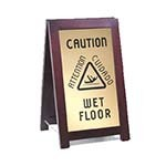 Cal-Mil 851-WET - Westport Floor Sign, 12