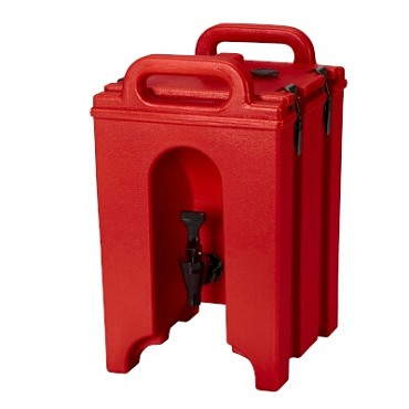 Cambro 100LCD158 - Insulated Beverage Server, 1.5 Gallon, Hot Red