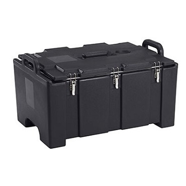 Cambro 100MPC110 - Insulated Food Carrier, 40 Quart, Black