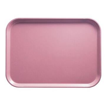 Cambro 1418409 - Camtray, Rectangular, Blush (Case of 12)