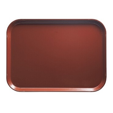 Cambro 1520501 - Camtray, Rectangular, Real Rust (Case of 12)
