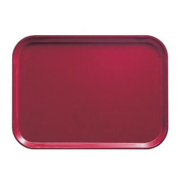 Cambro 1418505 - Camtray, Rectangular, Cherry Red (Case of 12)