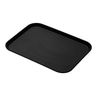 Cambro 1216CT110 - Serving Tray, Black Satin (Case of 12)