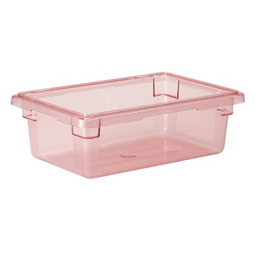 Cambro 12186CW467 - Food Storage Container, 3 Gallon, Red (Case of 6)