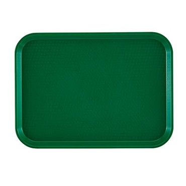 Cambro 1418FF119 - Fast Food Tray, Textured, Sherwood (Case of 12)