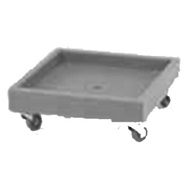 Cambro CD2020615 - Dishwasher Rack Dolly, 300 Pounds, Charcoal Gray