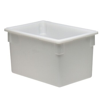 Cambro 182615P148 - Food Storage Container, 22.0 Gallon, White (Case of 3)