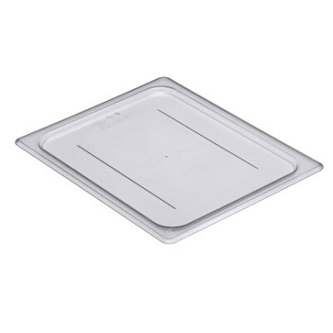 Cambro 20CWC135 - Camwear Food Pan Cover, 1/2 Size, Clear