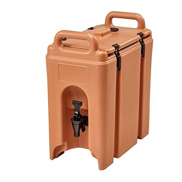 Cambro 250LCD157 - Camtainer Beverage Carrier, Insulated, 2.5 Gallon