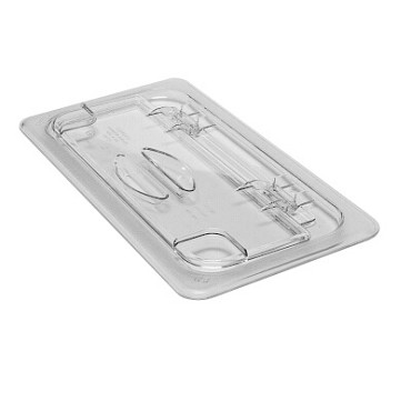 Cambro 30CWL135 - Food Pan Cover, 1/3 Size, Hinged, Clear (Case of 6)
