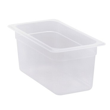 Cambro 36PP190 - Food Pan, 1/3 Size, Translucent (Case of 6)