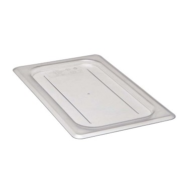 Cambro 40CWC135 - Camwear Food Pan Cover, 1/4 Size, Clear