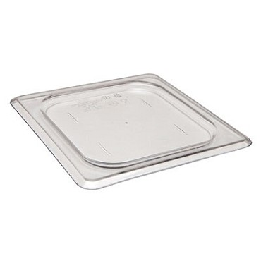 Cambro 60CWC135 - Food Pan Cover, 1/6 Size, Plain, Clear