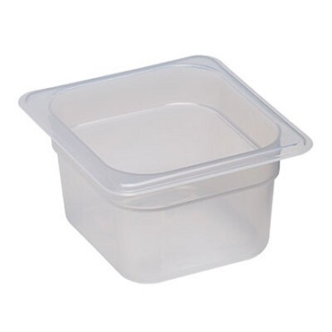 Cambro 64PP190 - Food Pan, 1/6 Size, Translucent