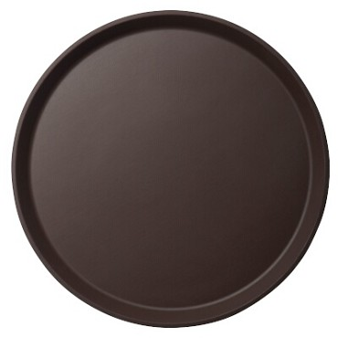 "Cambro 900CT138 - 9"" Round Serving Tray, Tavern Tan (Case of 12)"