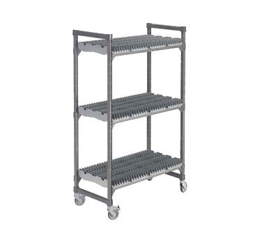 Cambro EMU246078DRPKG - Drying Rack Carts, Brushed Graphite