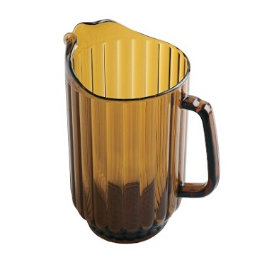 Cambro P600CW153 - Camwear Pitcher, 60 ounce Amber (Case of 6)