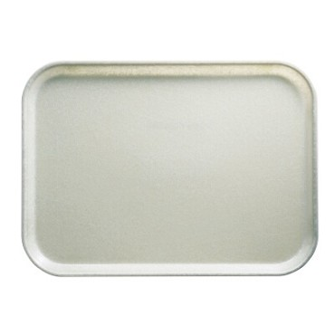 Cambro 1520101 - Camtray, Rectangular, Parchment (Case of 12)