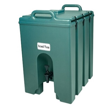 "Cambro 1000LCD519 - Beverage Carrier, 11 gallon, 16""W x 20""D x 24""H, insulated plastic, Kentucky green"