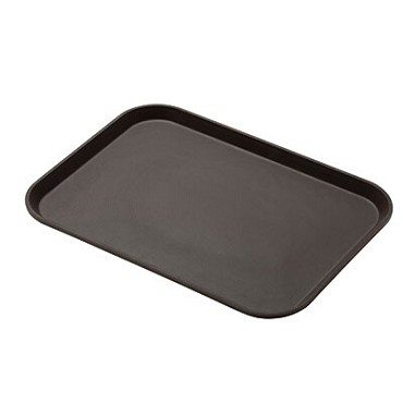"Cambro 1216CT138 - Serving Tray, rectangular, 12"" x 16-5/16"", fiberglass, tavern tan, (Case of 12)"