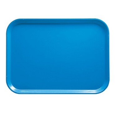 "Cambro 1418105 - Camtray, rectangular, 14"" x 18"", horizon blue, (Case of 12)"