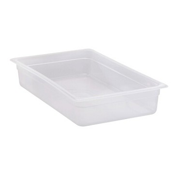 "Cambro 14PP190 - Food Pan, full size, 4"" deep, polypropylene, translucent, (Case of 6)"