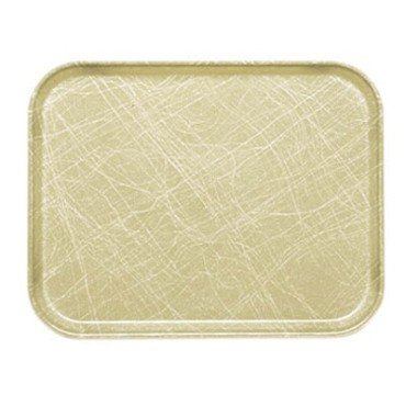 "Cambro 1520214 - Camtray, rectangular, 15"" x 20-1/4"", abstract tan, (Case of 12)"