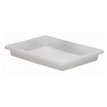 "Cambro 18263P148 - Food Storage Container, 18"" x 26"" x 3"", 5 gallon, natural white, (Case of 6)"