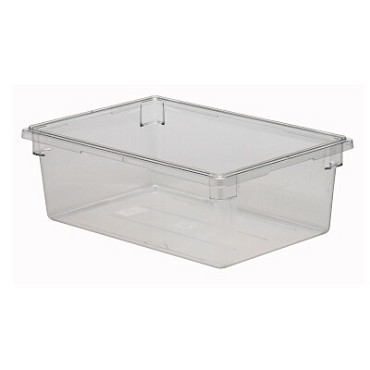 "Cambro 18269CW135 - Food Storage Container, 18"" x 26"" x 9"", 13 gallon, clear"