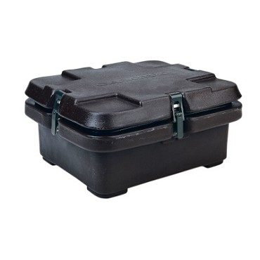 "Cambro 240MPC110 - Camcarrier, for half size food pans, 6.3 quarts, 16-1/2""W x 13-7/8""D, black"