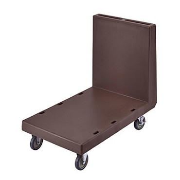 "Cambro 2436UTH131 - Utility Truck, 24-7/8"" x 41-3/4"", 36-3/4""H, capacity 600 lbs., dark brown"