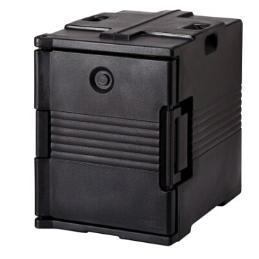 Cambro UPC400110 - Pan Carrier, front loading, capacity 60 qt., black