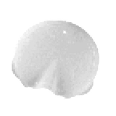 Cambro WW1000LS148 - Replacement Lid, with pour spout, white, (Case of 12)